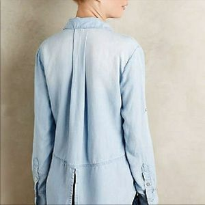 cloth & stone Jackets & Coats - Cloth and Stone thin jean jacket